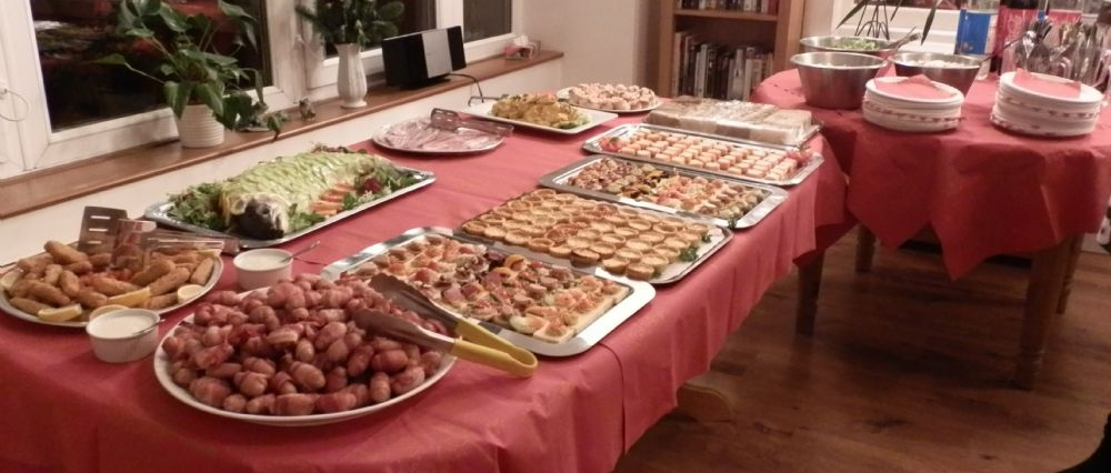 Our wonderful buffet
