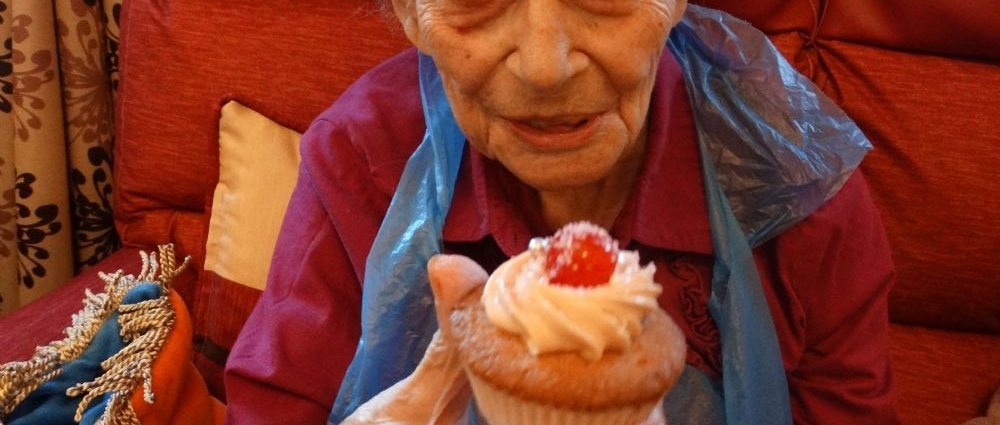 Fabulous Cup Cakes Made with Love!  Our Residents were inspired to make and decorate delicious Cup C