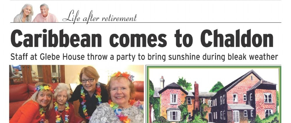 Our Feature in this edition of the Surrey Mirror.