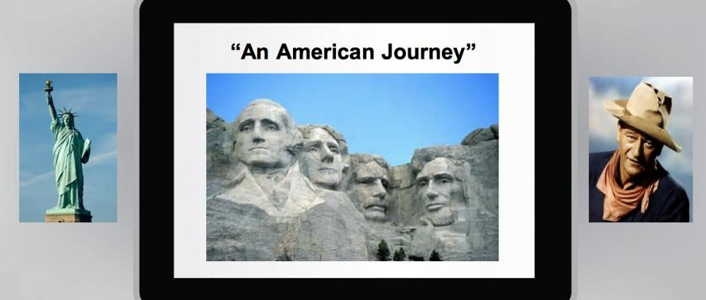 Nigel's Talk on American Journey - Invitation