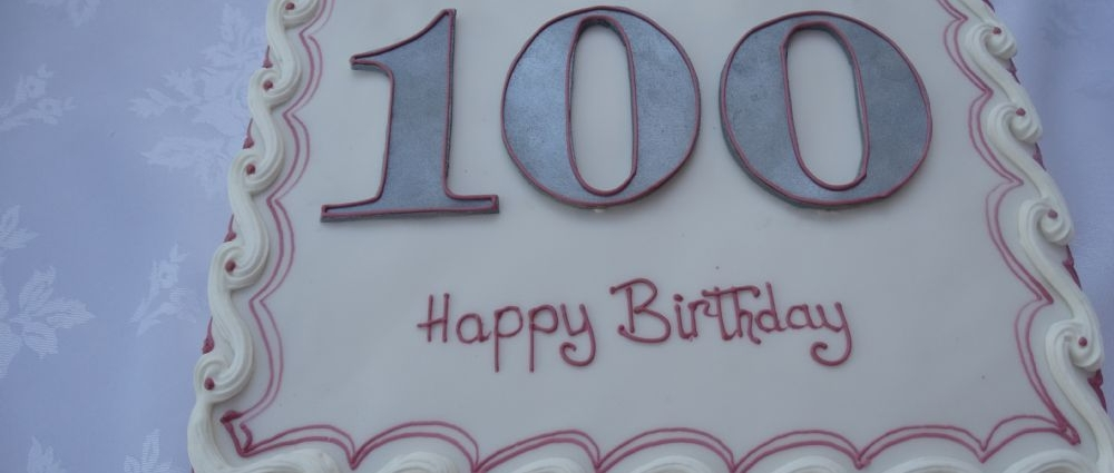 A very special 100th Birthday at Glebe House!!