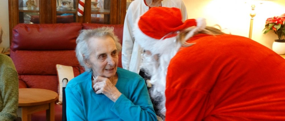 Christmas Day at Glebe House