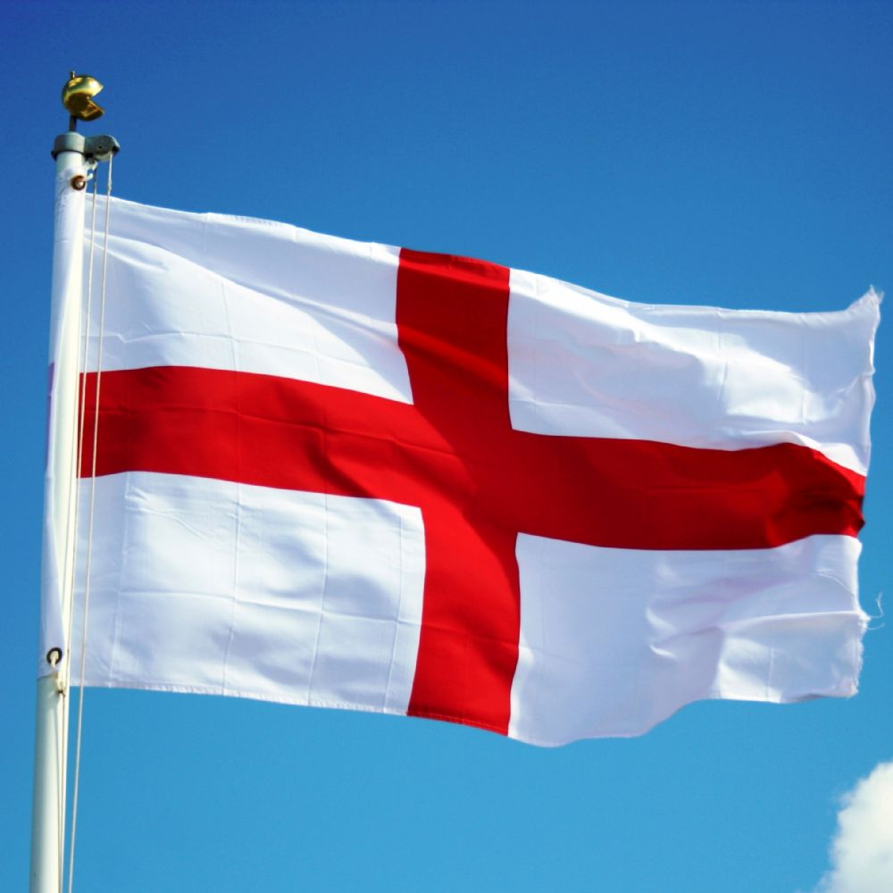 Celebrating St Georges day .