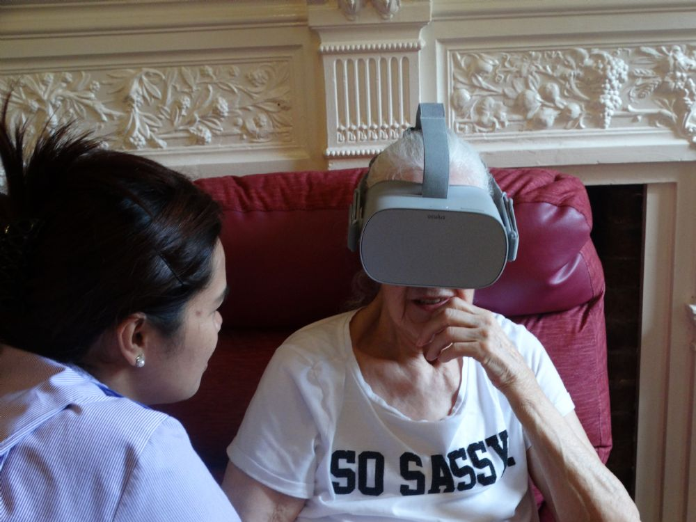 Virtual Reality at Glebe House!