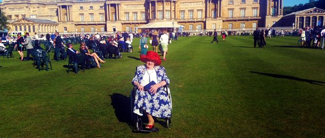 Beryl's outing at Buckingham Palace