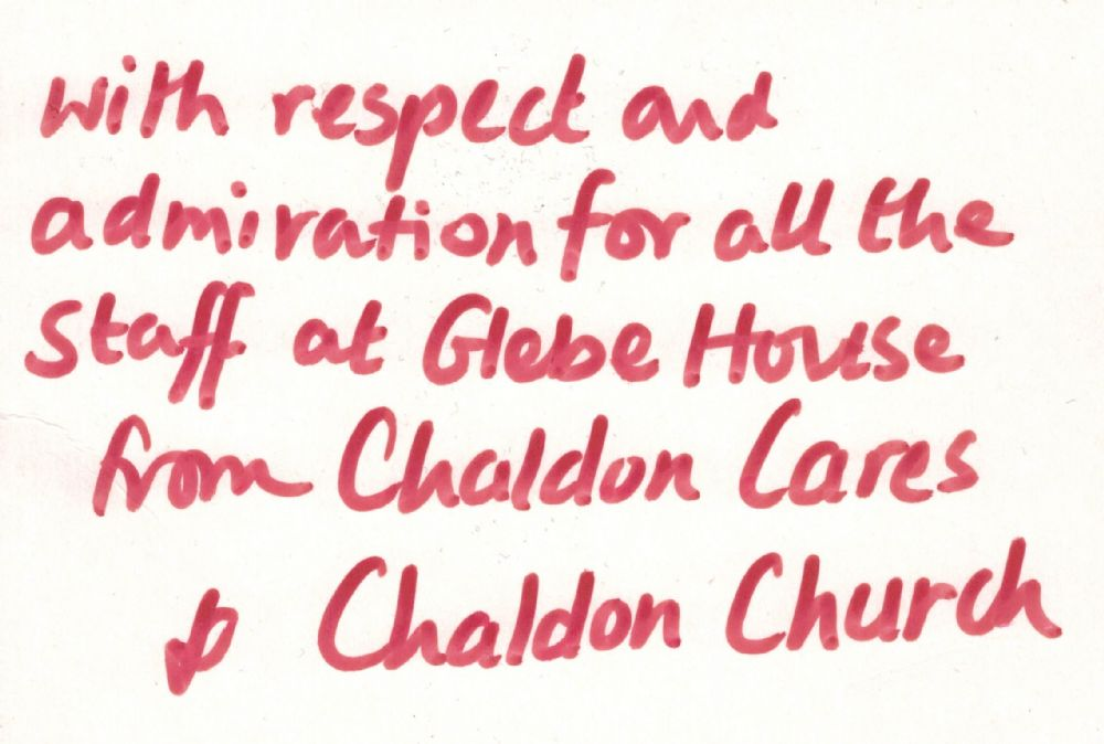 GH - Chaldon Cares & Church Thank You