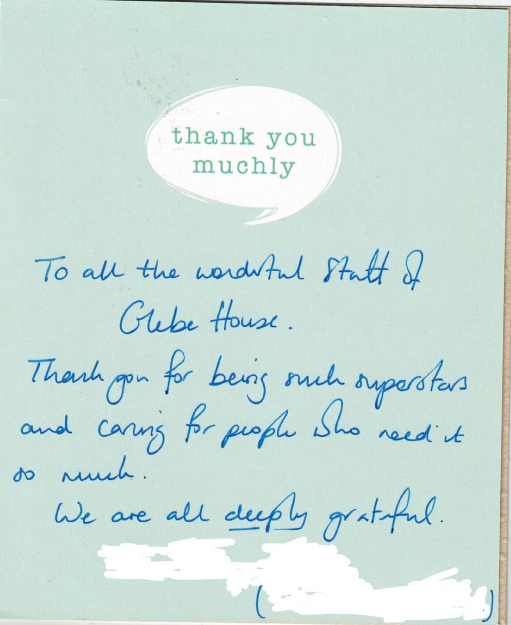 GH - Sherry Family Thank You