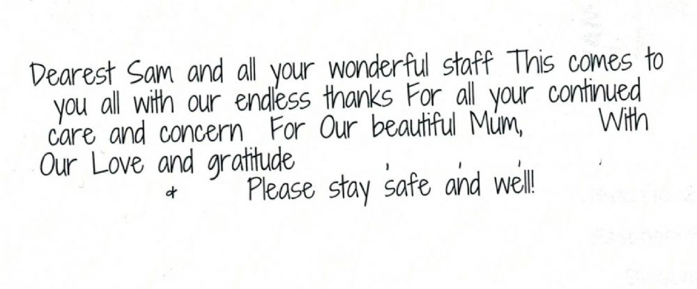 GH -Joan's Family Thank You